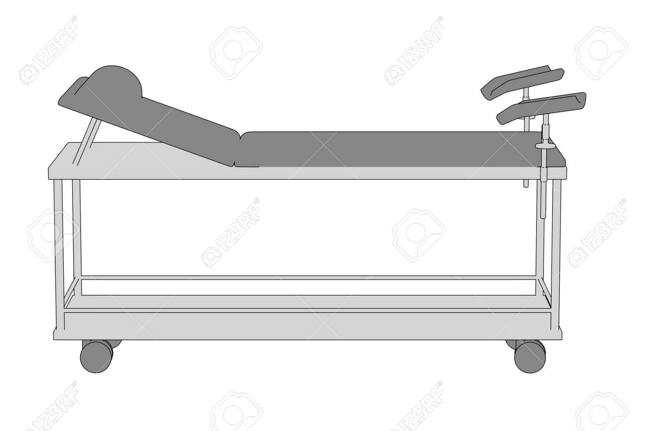 Exceptionnel Cartoon Image Of Hospital Bed Stock Photo   27434319