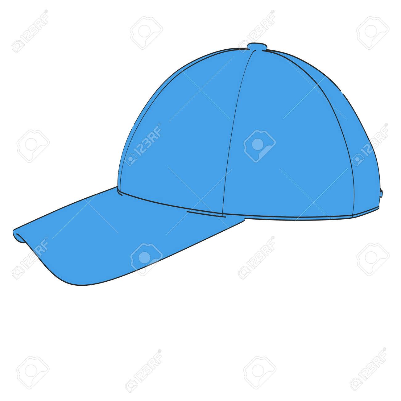野球帽の 2 D 漫画イラスト の写真素材画像素材 Image 54963665