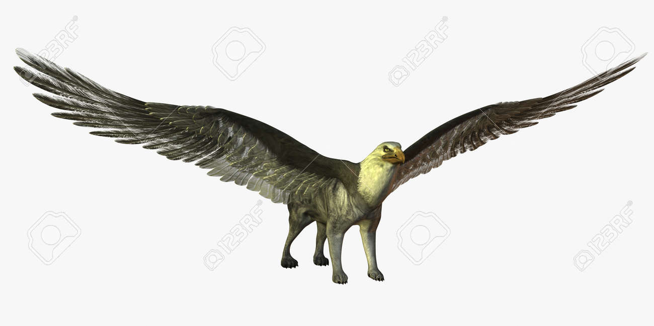 Digital visualization of mythical creature - 8185811