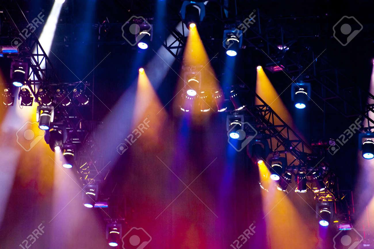 Chorégraphie sur un concert. Banque d'images - 9327672