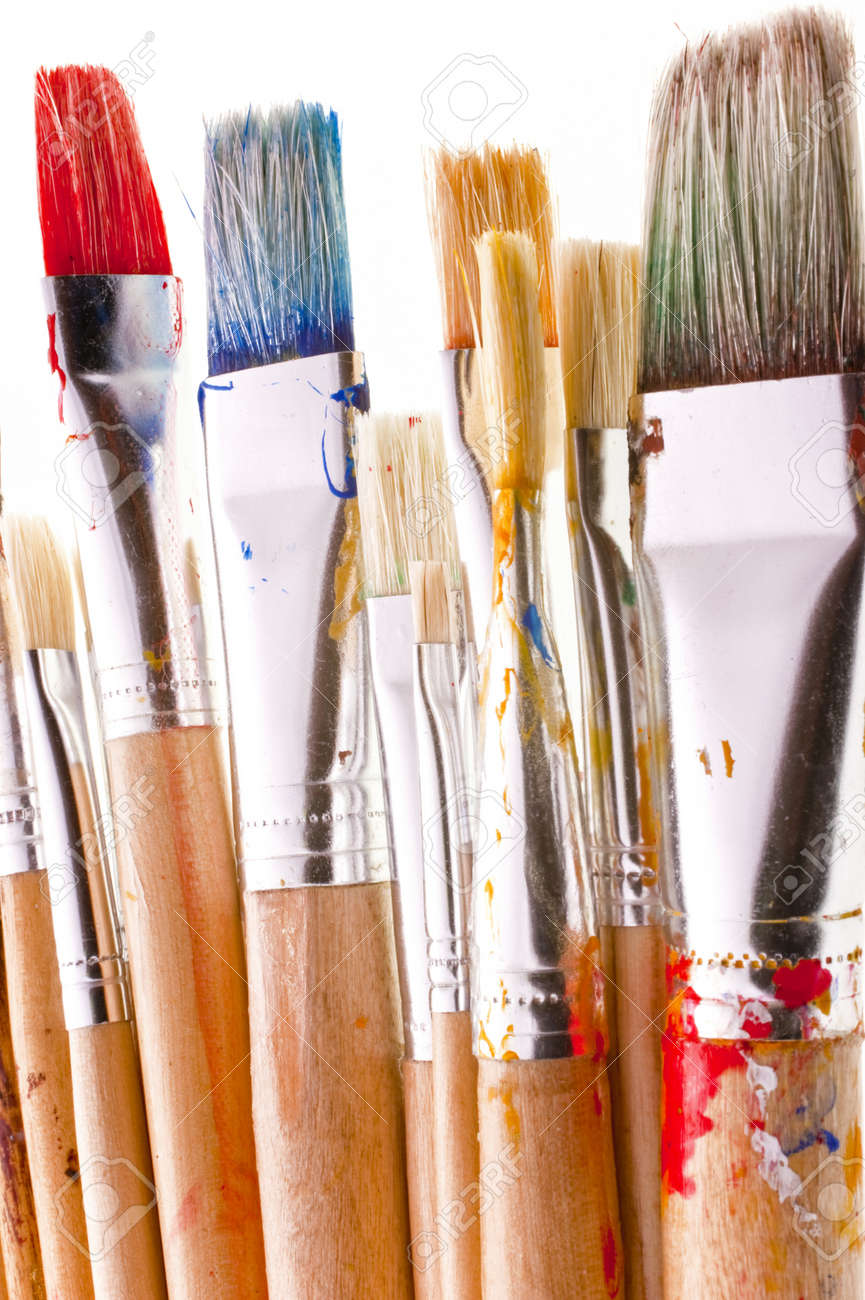 Detail of brushes - 9596607