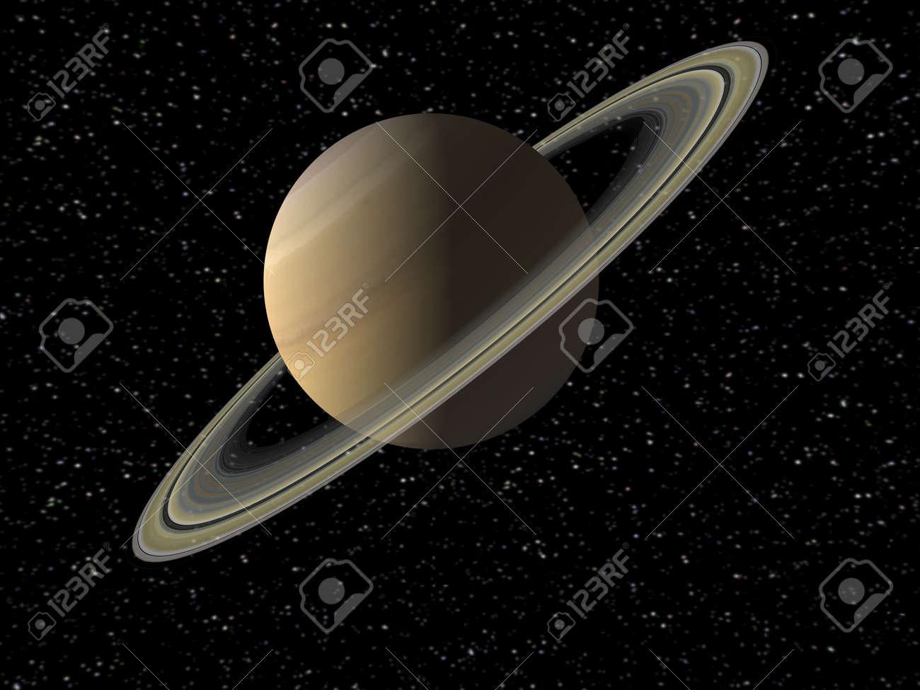 Saturne Banque d'images - 15533907