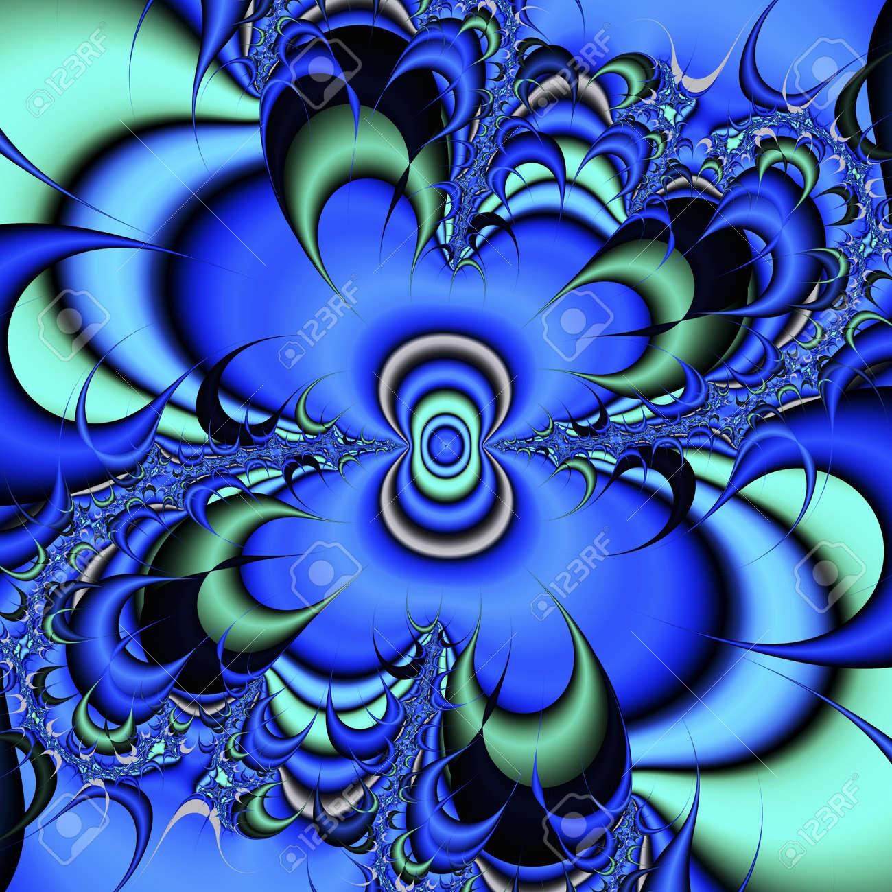 digital visualization of a fractal Stock Photo - 21708364