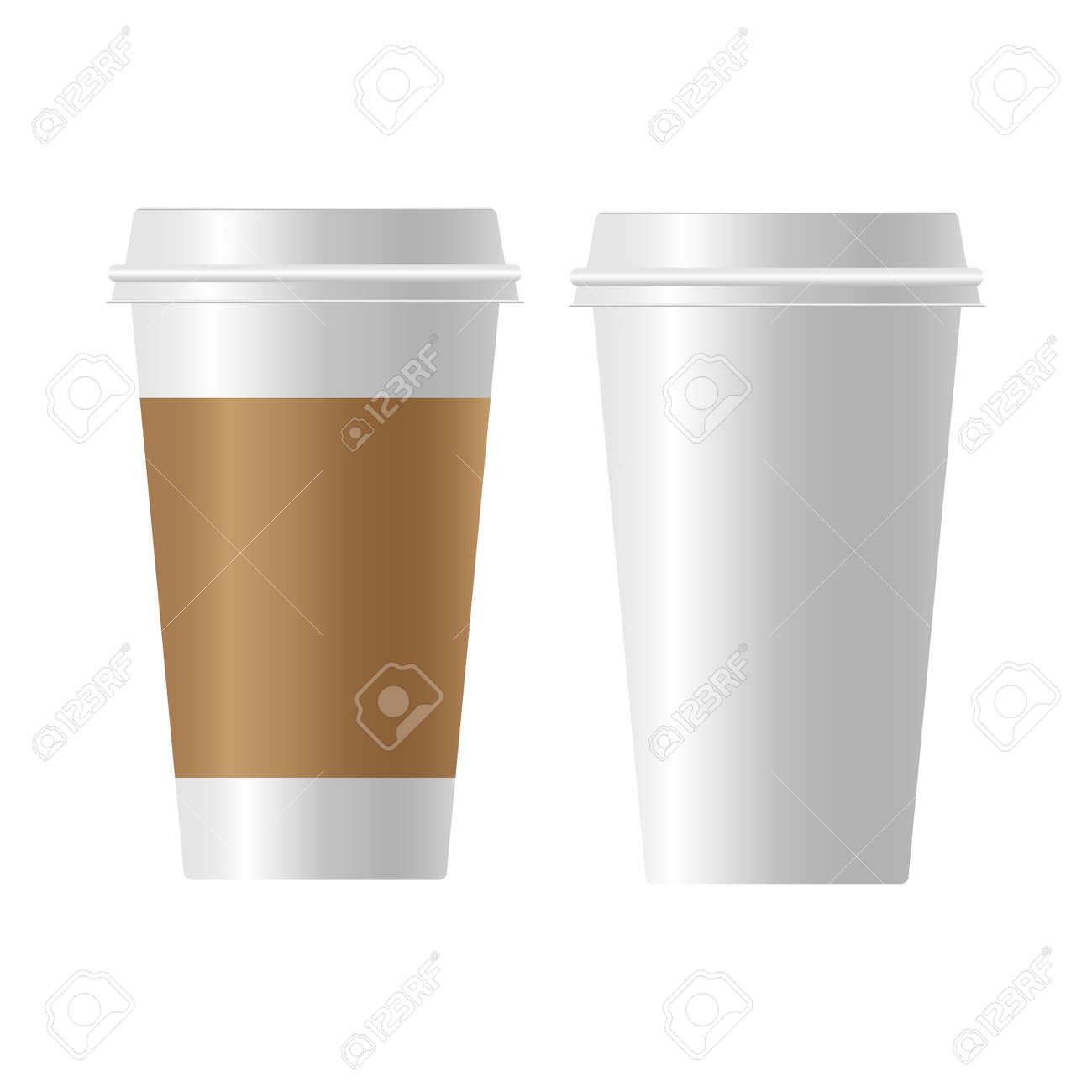 coffee cup paper Realistic - 149012566