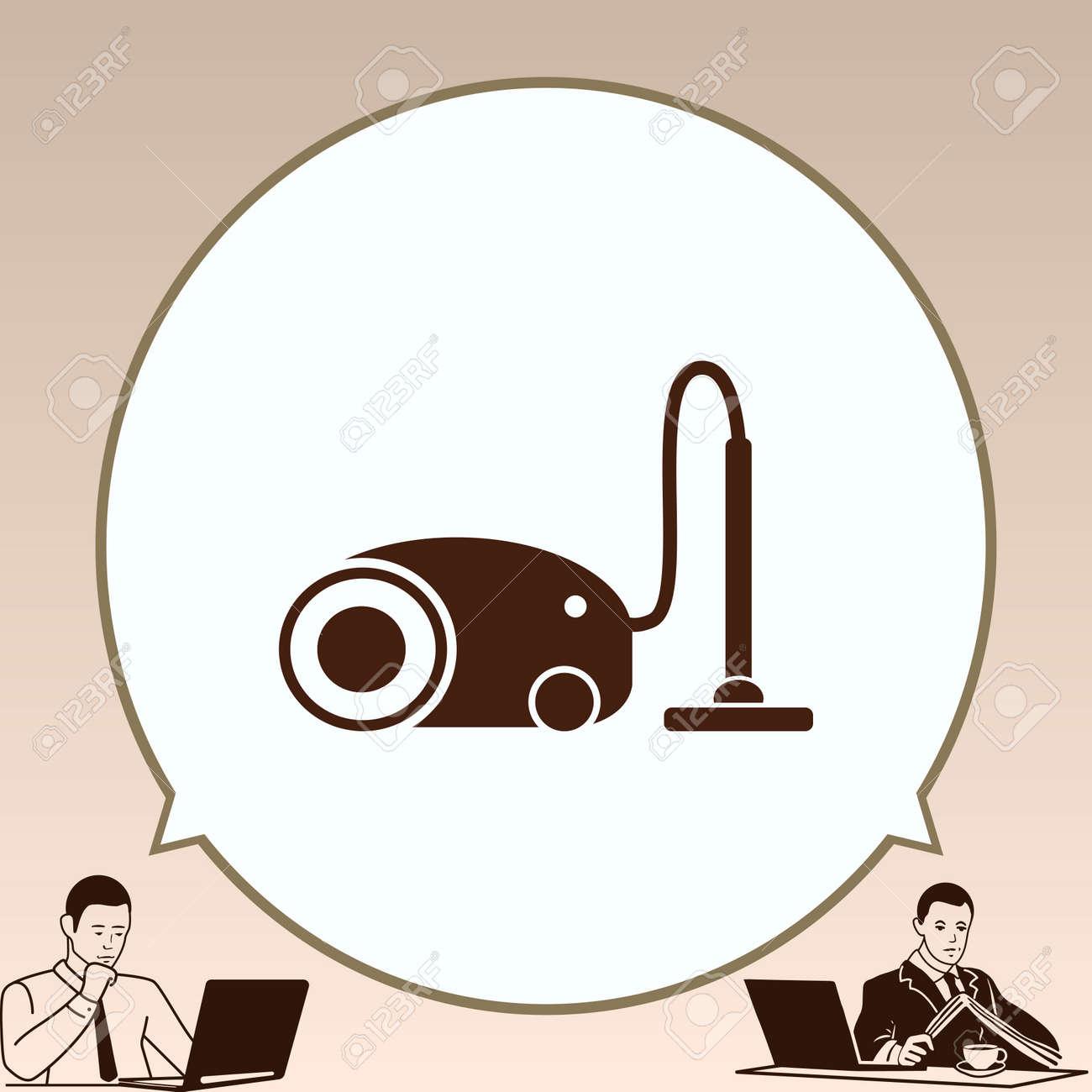 Home Interior Design Vacuums Icon Living Room Vector