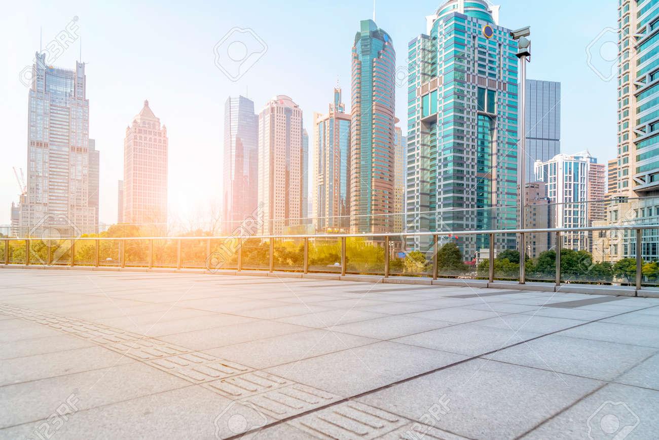 Phong cảnh kiến trúc của Lujiazui, Thượng Hải Kho ảnh - 87893462