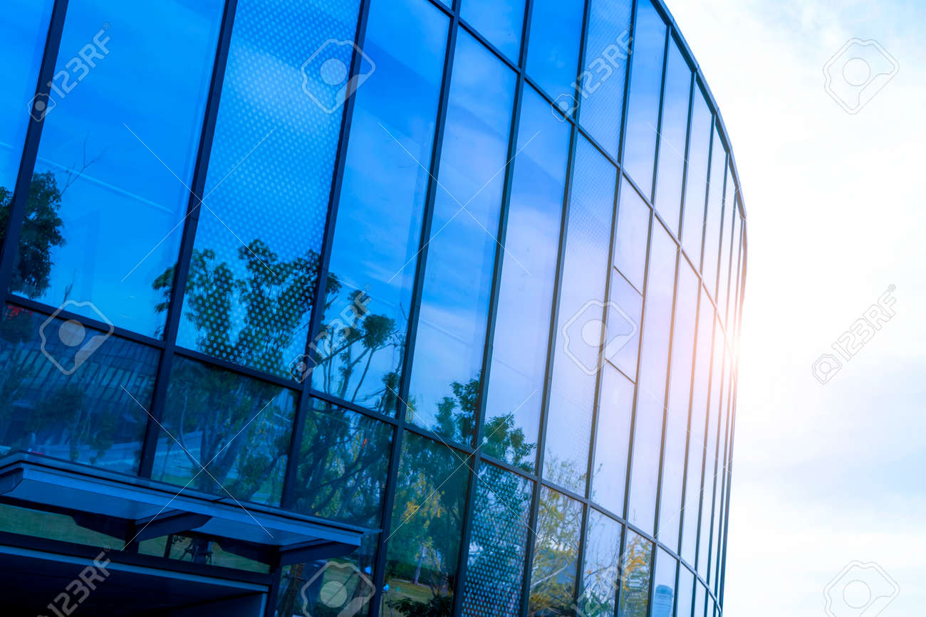 Exterior Wall Of Building Glass Stock Photo Picture And Royalty Free Image Image 91790386