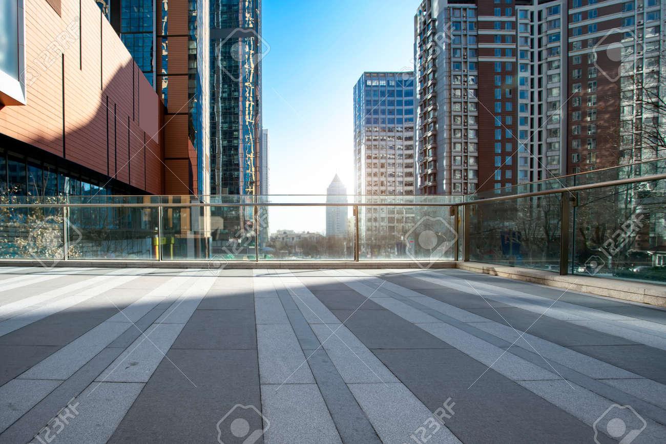 Qingdao modern city architecture landscape - 125110835