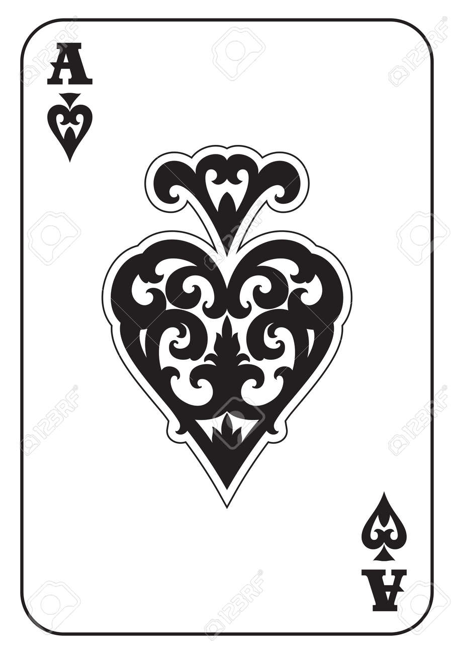 Ace of spades royalty free cliparts vectors and stock illustration ace of spades stock vector 56577377 biocorpaavc Choice Image