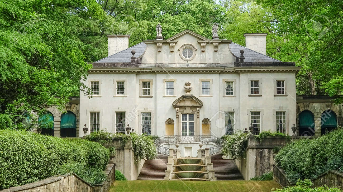Swan House in Atlanta - part of Atlanta History Center - 56056844