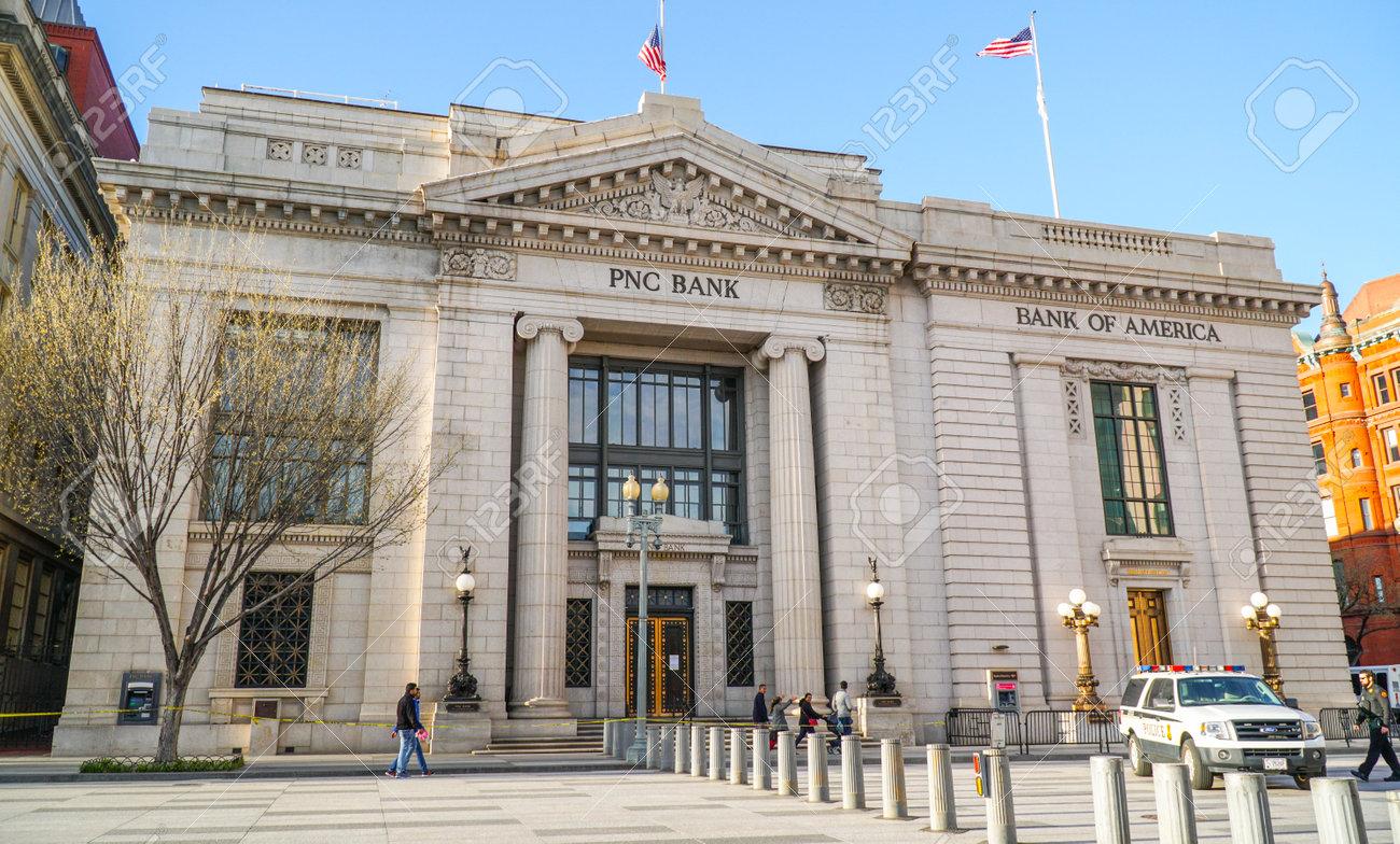 PNC 銀行バンクオブ アメリカ ペンシルベニア アベニュー ワシントン ...