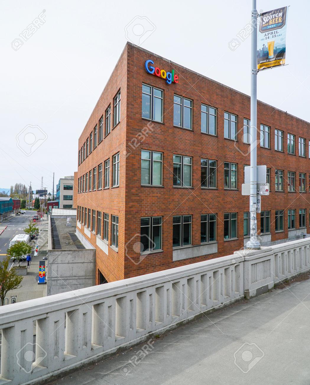 Google Maps Headquarter In Seattle - SEATTLE / WASHINGTON - APRIL ...