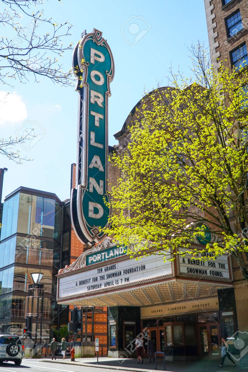 Portland Theater Arlene Schnitzer Concert Hall PORTLAND - Arlene schnitzer concert hall portland oregon