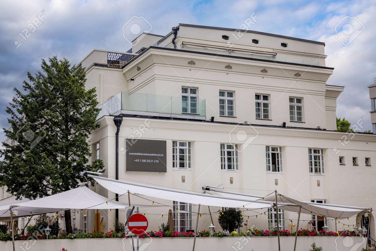 Little house of Art in Vienna - VIENNA, AUSTRIA, EUROPE - AUGUST 1, 2021 - 173492615