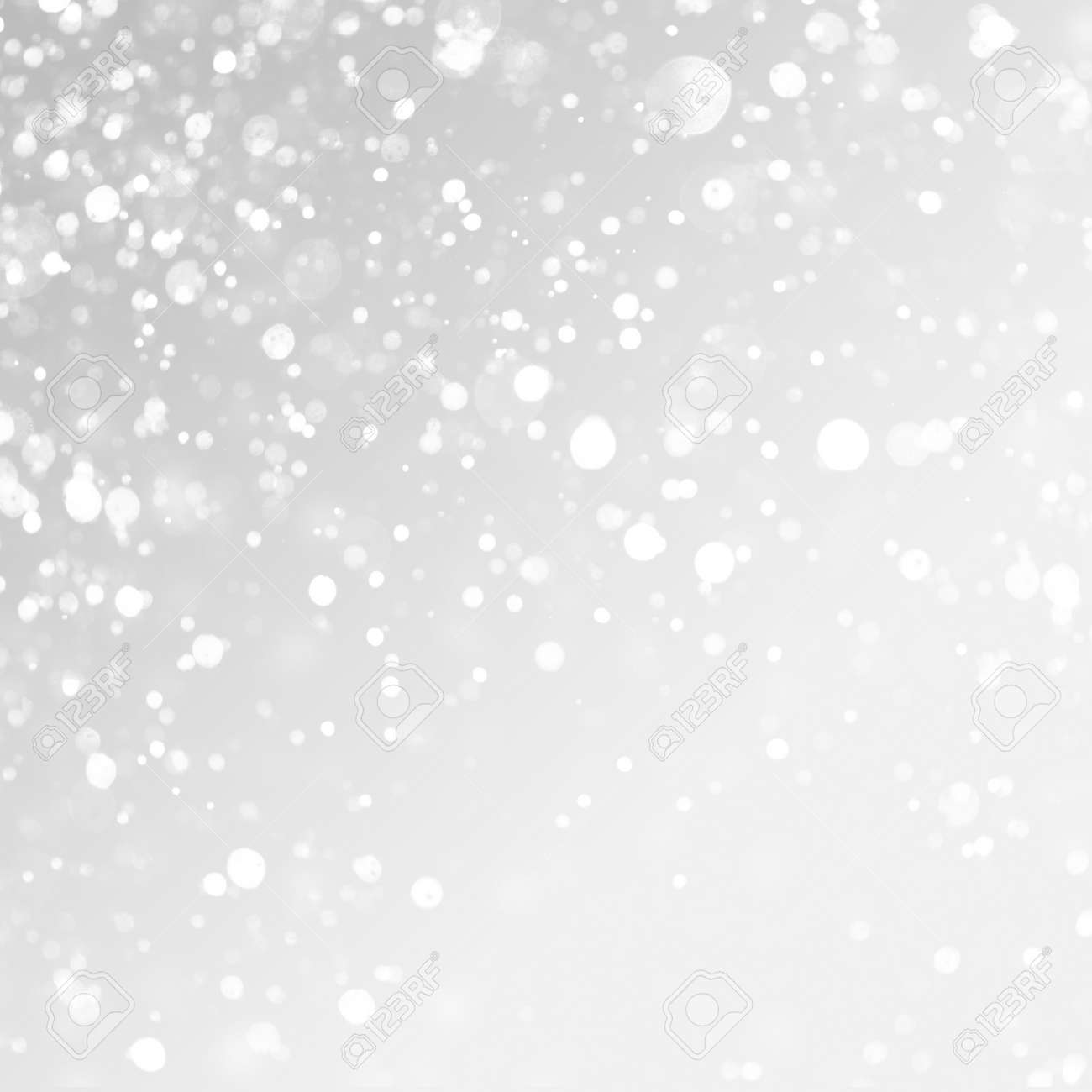 christmas background. Snow on grey background. - 47455970