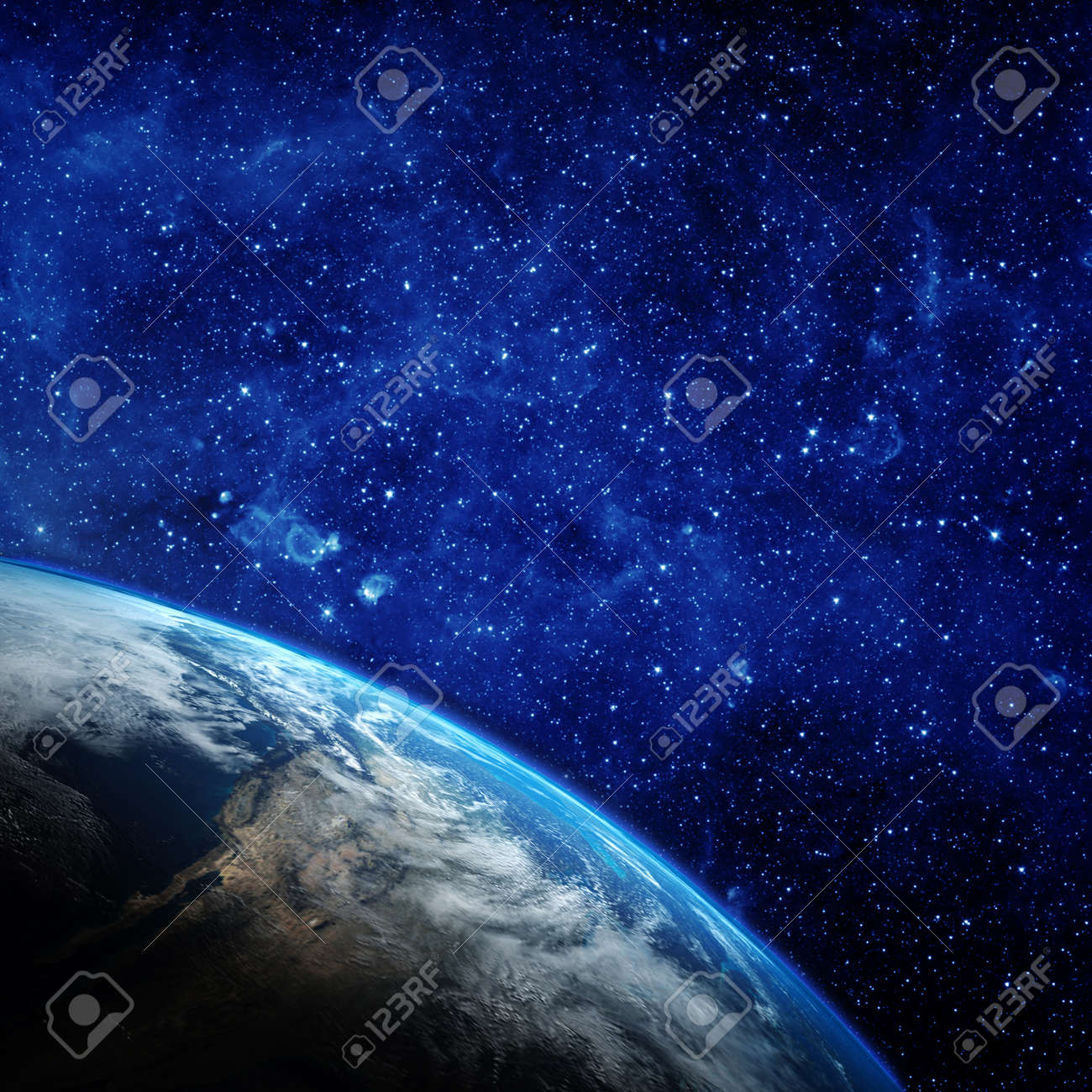 Planet earth from the space. - 50880203