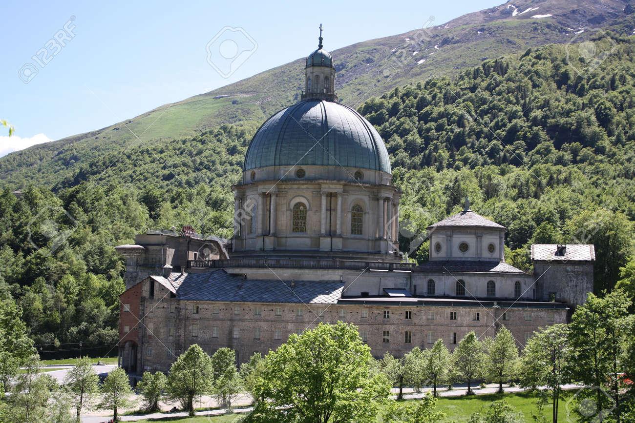 Oropa Sanctuary, Known As Sacro Monte Della Beata Vergine Oropa ...