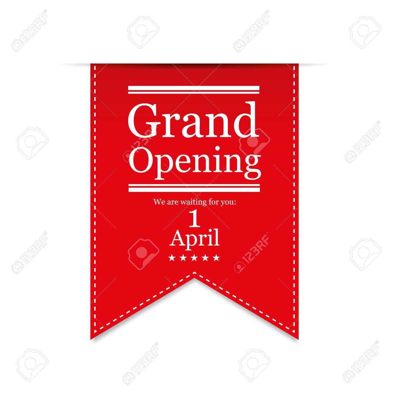 banner grand opening vector royalty free cliparts vectors and