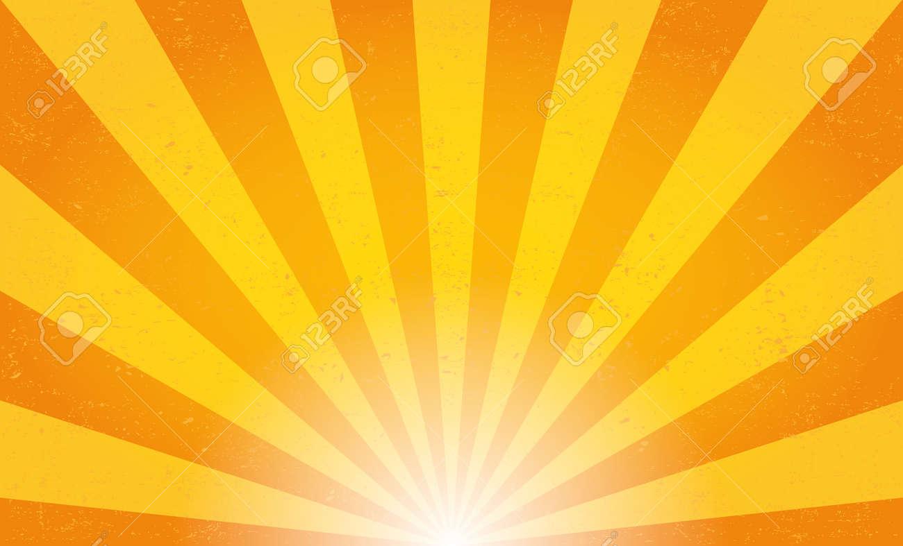 Sun rays. Vector illustration - 46940717