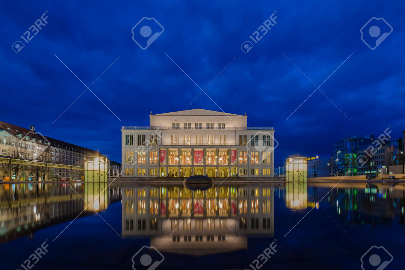 Leipzig Opera House Stock Photo Picture And Royalty Free Image Image 58566291