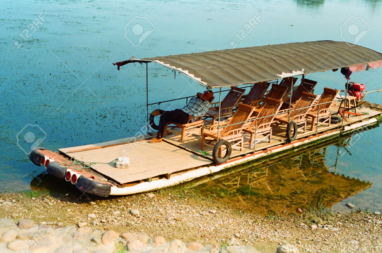 Miraculous Bamboo Lounge Chair On Boat In Guilin Creativecarmelina Interior Chair Design Creativecarmelinacom