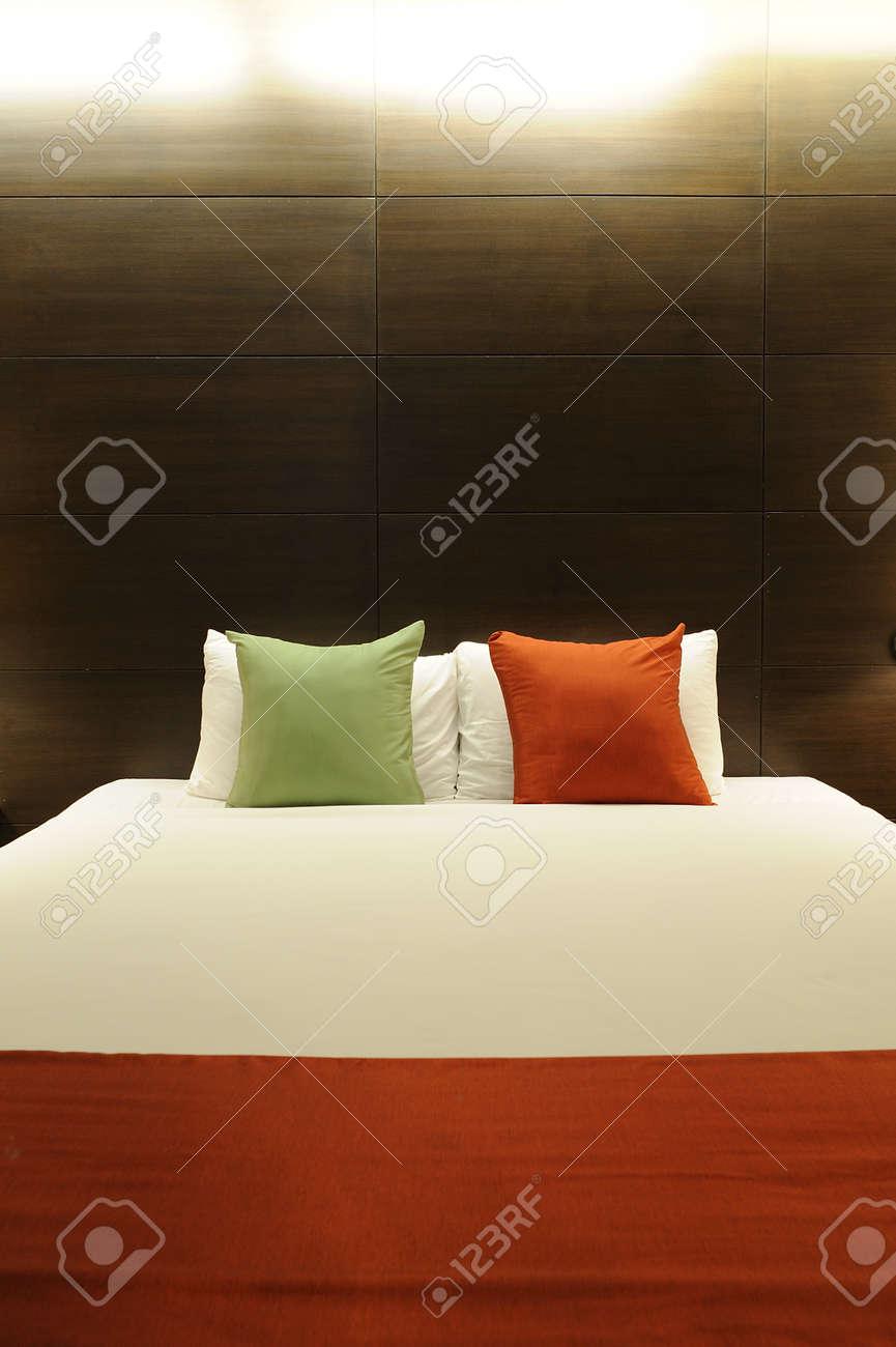 Chambre à Coucher De Style Contemporain Banque D\'Images Et Photos ...