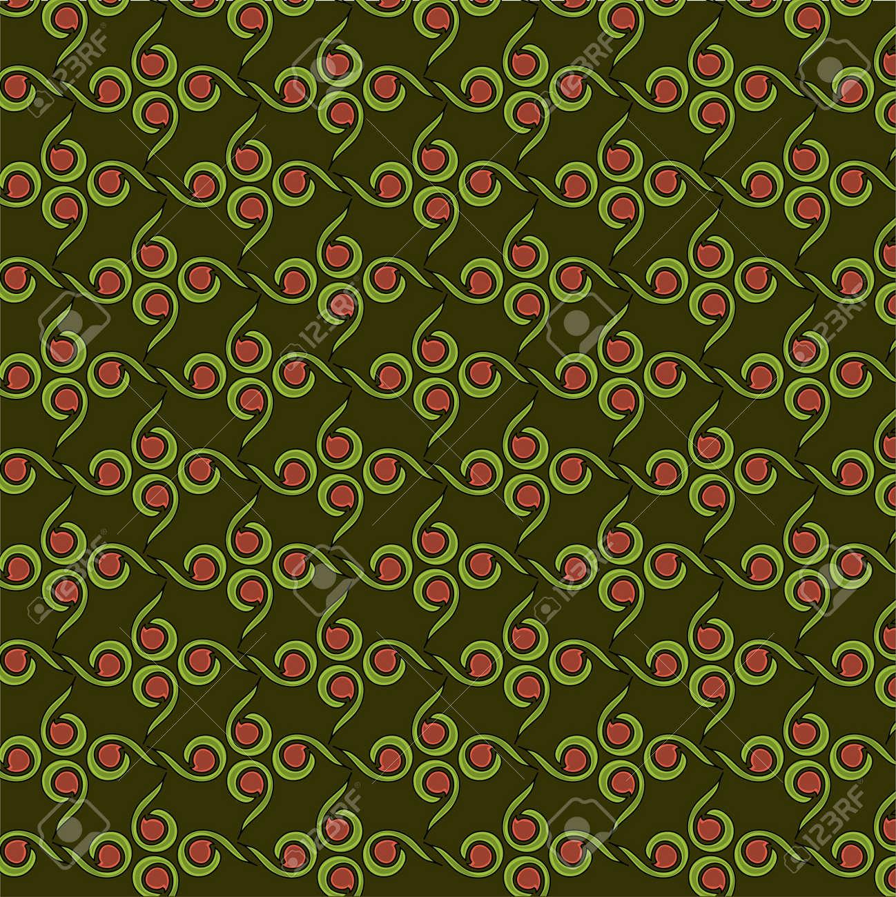 Seamless flower pattern Stock Vector - 15579061