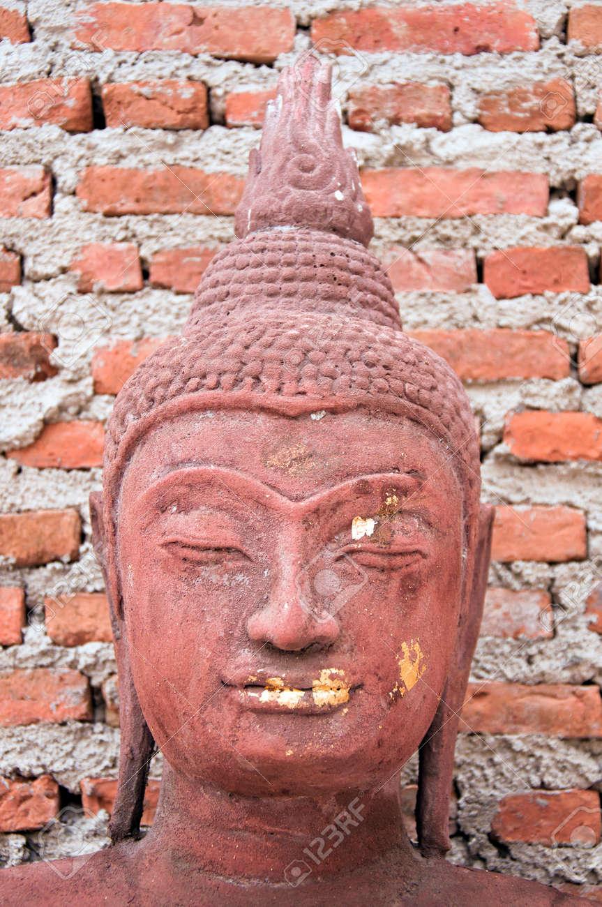 a face of buddha image Stock Photo - 13801399