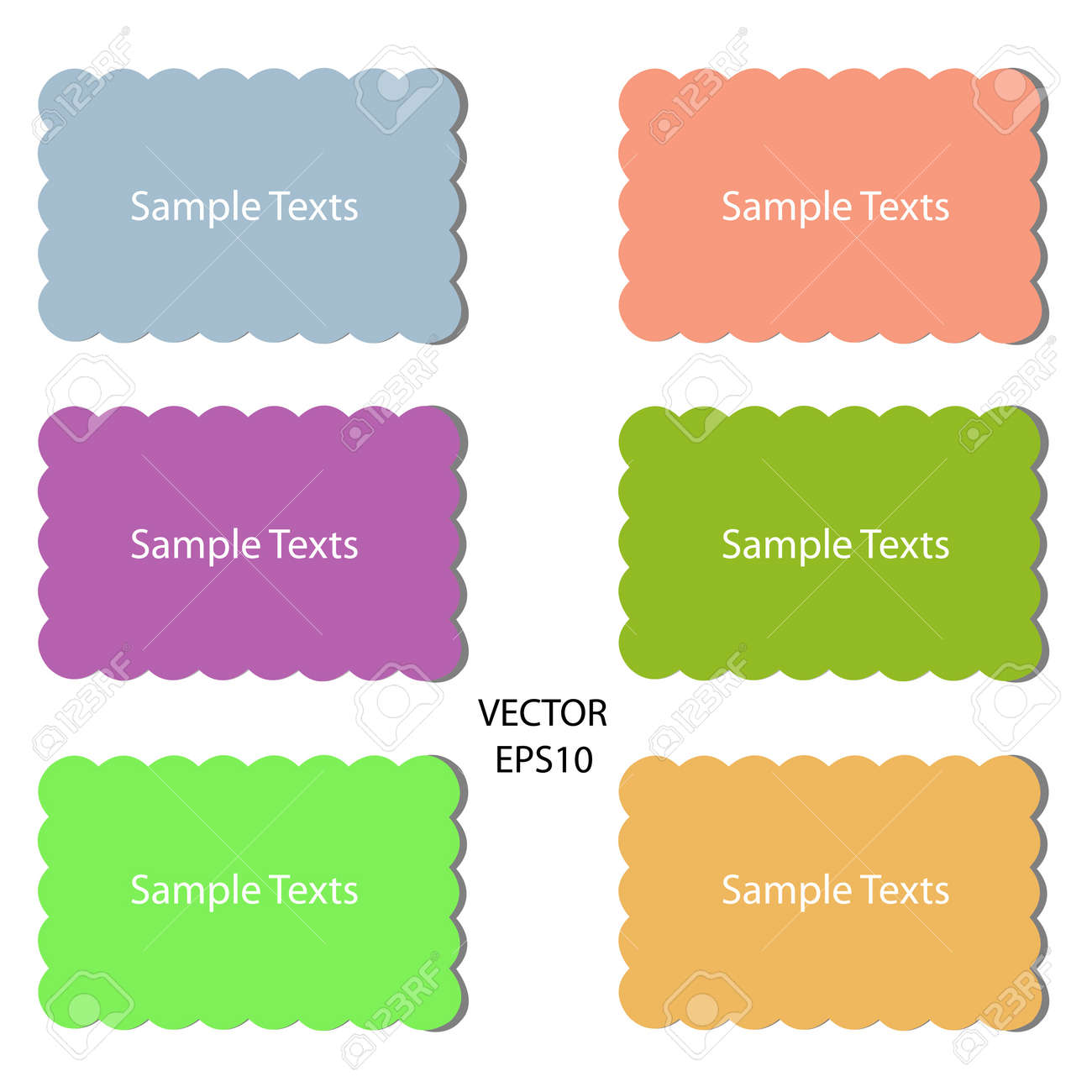 blank color papers on background,blank paper sheets,texts box,idea box,vector Stock Vector - 18139037