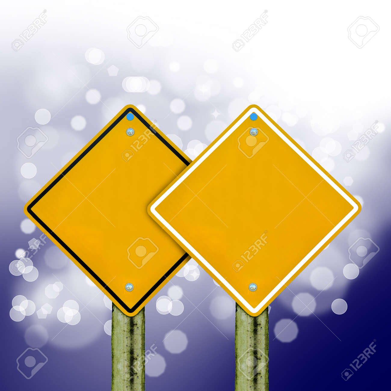 blank board with bokeh background,abstract sign,business symbol Stock Photo - 18296026
