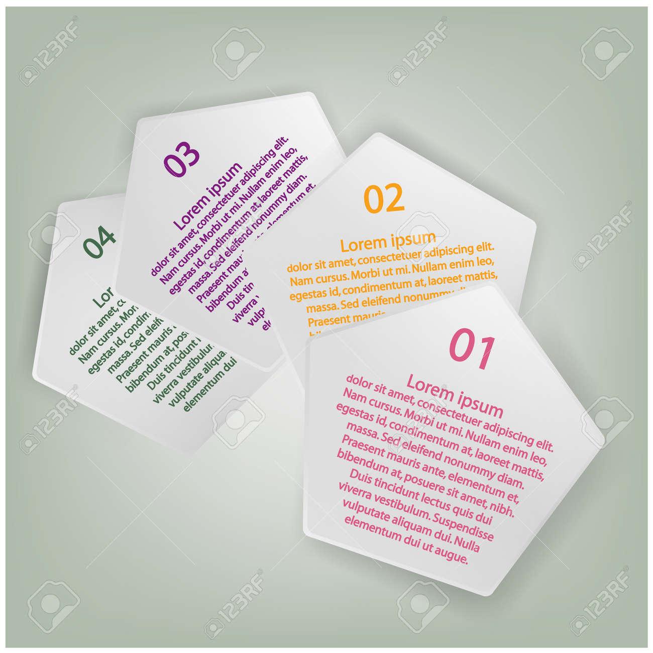 Modern Design Minimal style infographic template, presentation template ,vector illustration Stock Vector - 22124552