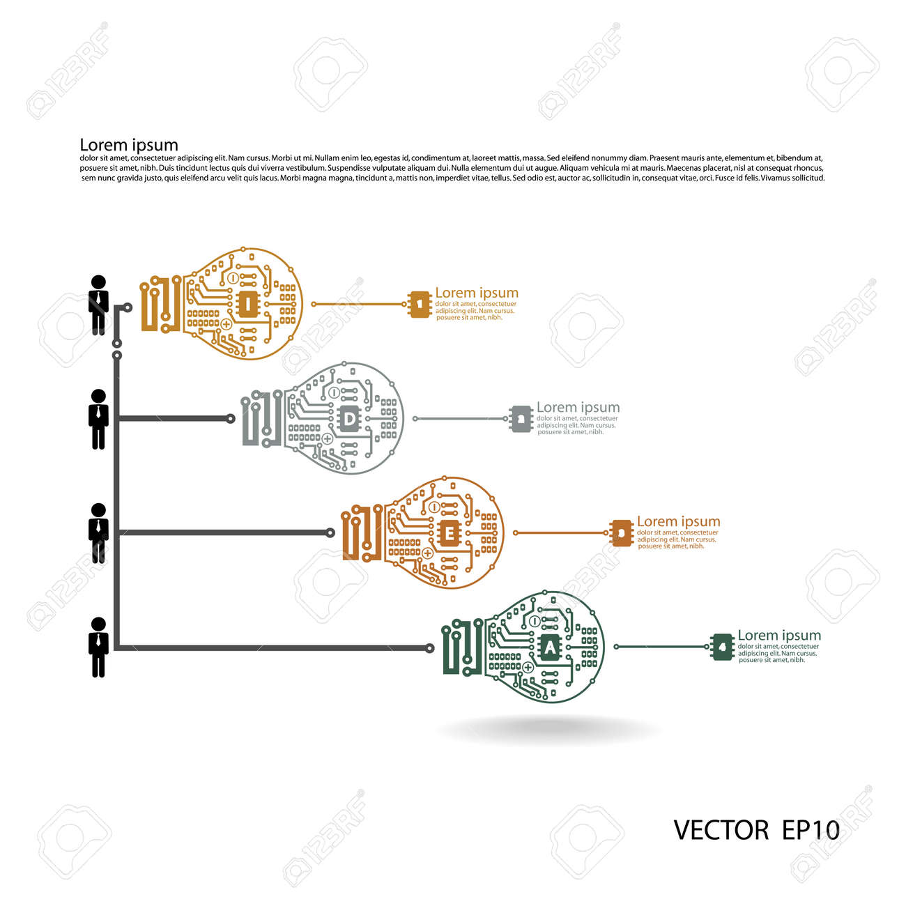 23263136 Light bulb idea concept template Light bulb circuit symbol Vector illustration can be used for work Stock Vector 1987 winnebago 22e wiper cruse signal wiring diagram 88029,e  at nearapp.co