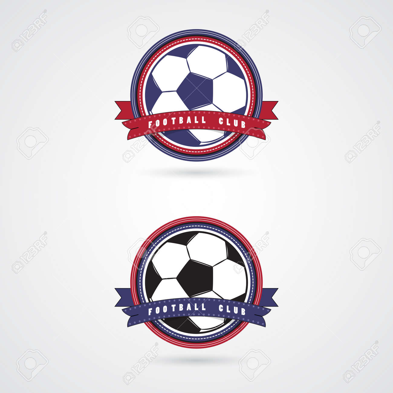 Design t shirt soccer - Soccer Football Badge Logo Design Templates Sport Team Identity Collection Of Soccer Themed T