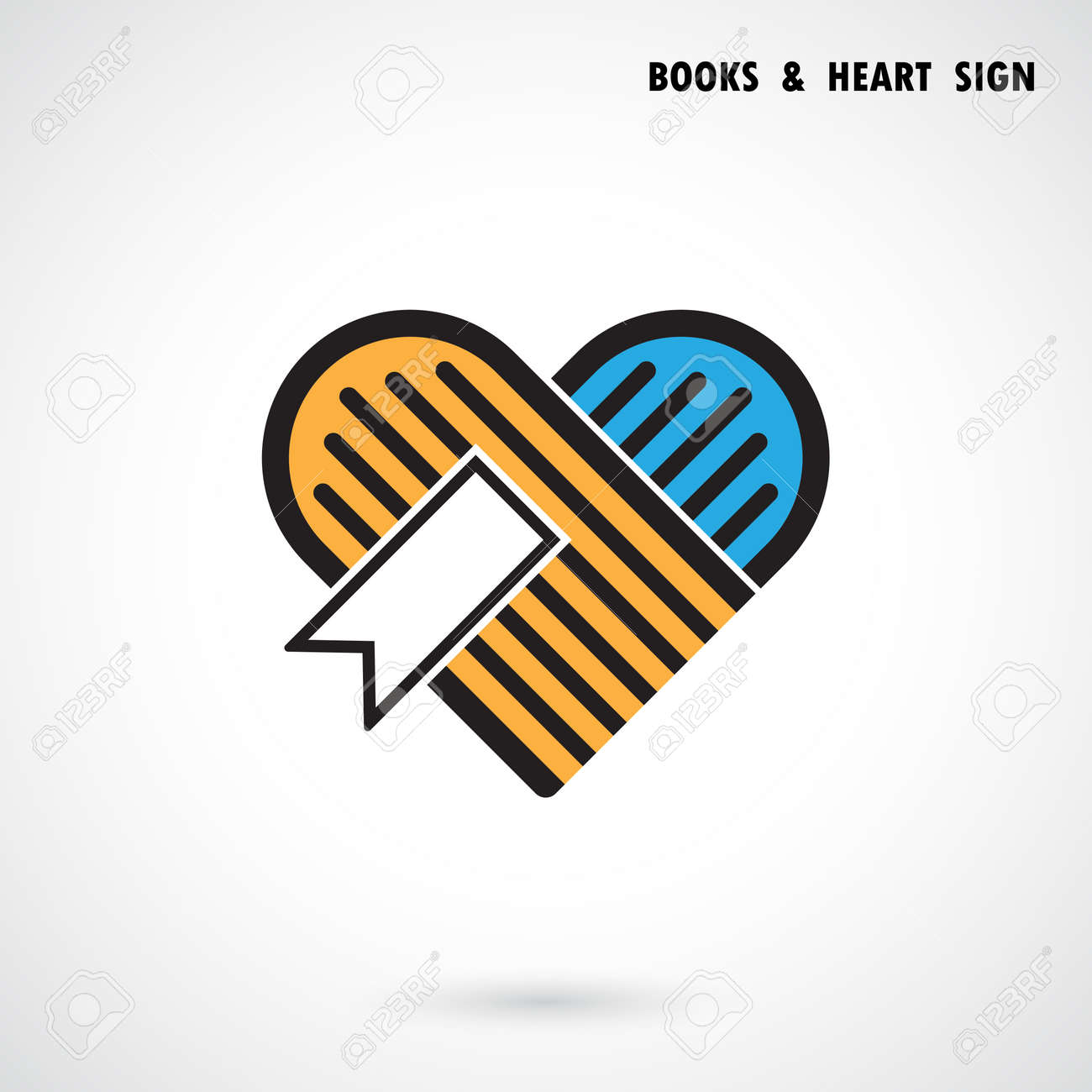 Book Heart Logo