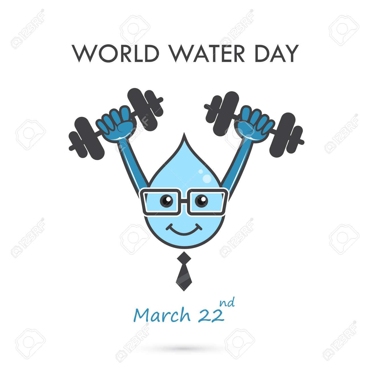 Diseño De Dibujos Animados De Ilustración De Día Mundial De Agua