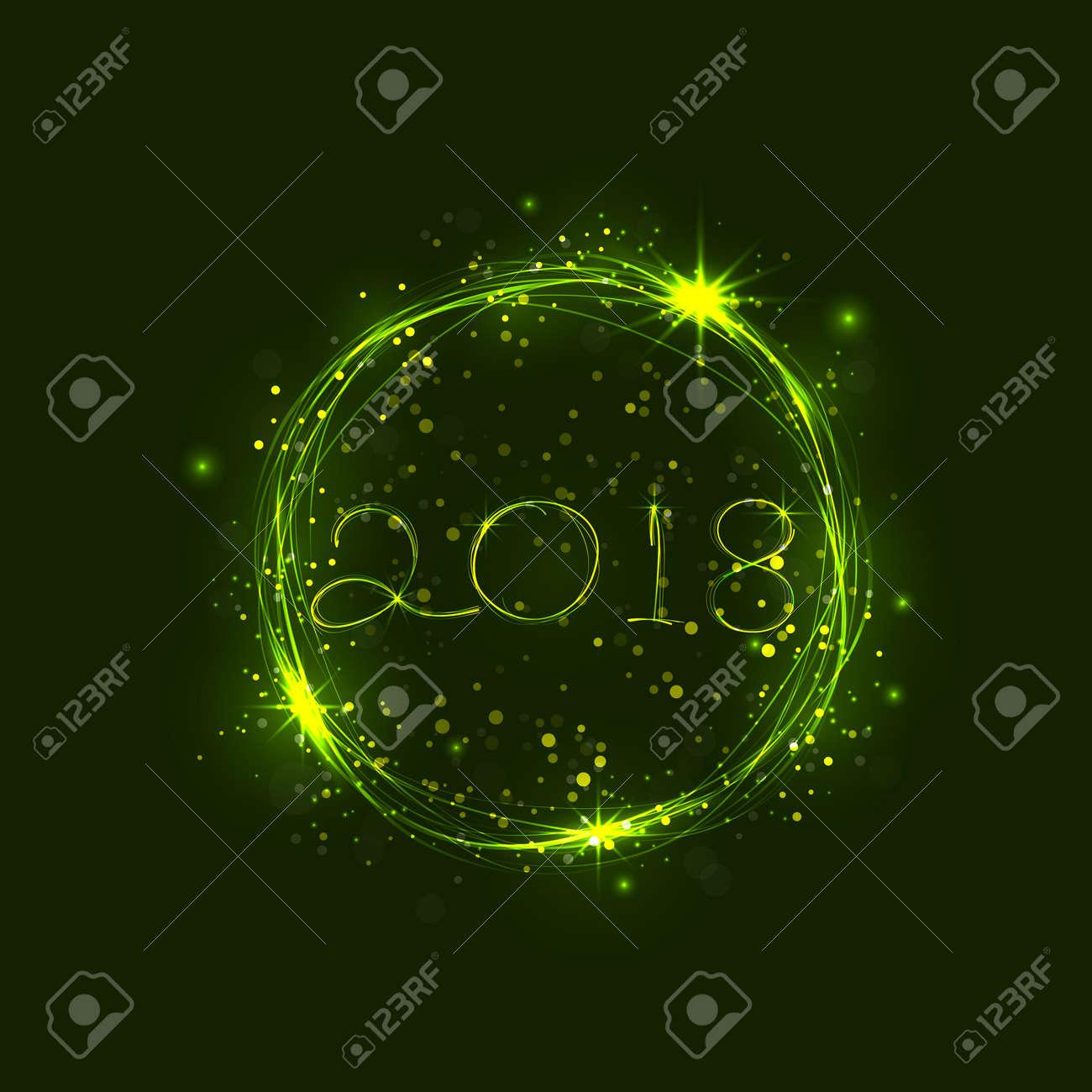 新年あけましておめでとうございます 2018年休日 background 2018 新年