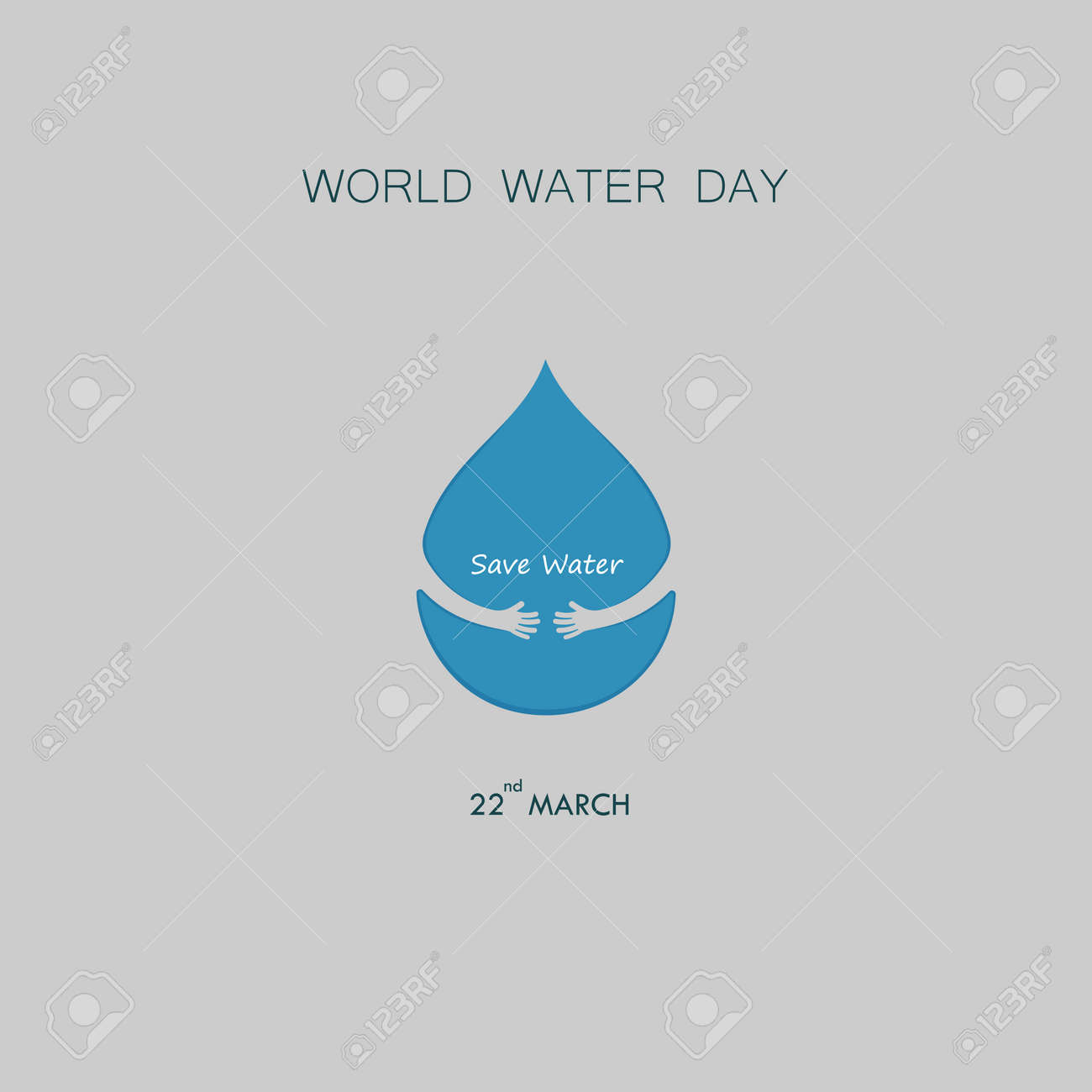 water drop with small tree icon vector logo design template