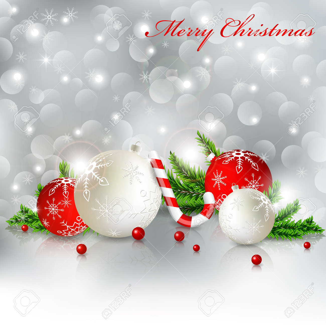 christmas greeting card Stock Vector - 11263786
