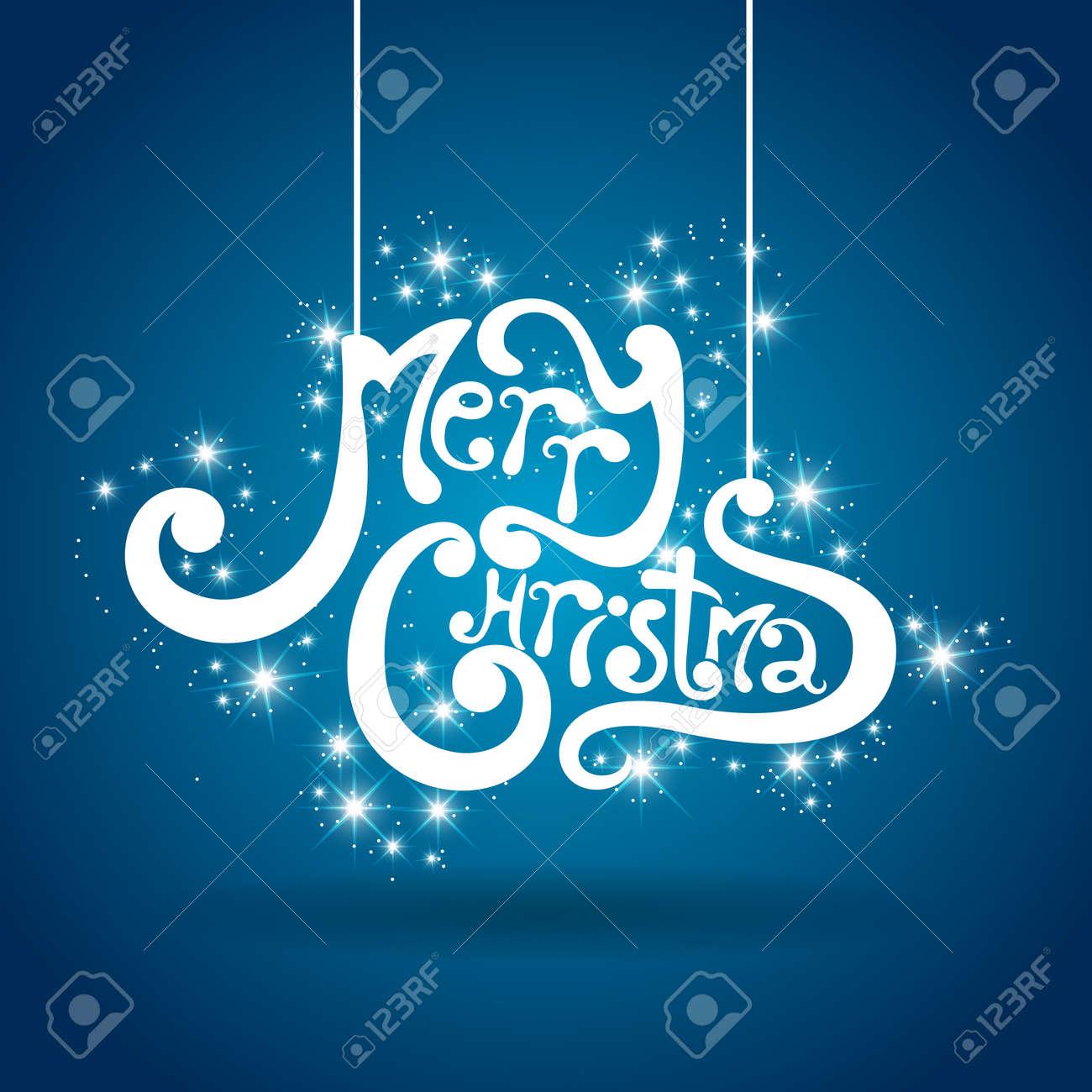 merry Christmas greeting card Stock Vector - 16610541