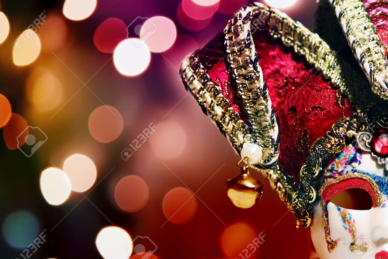Photo of carnaval mask on bright background Stock Photo - 18428823