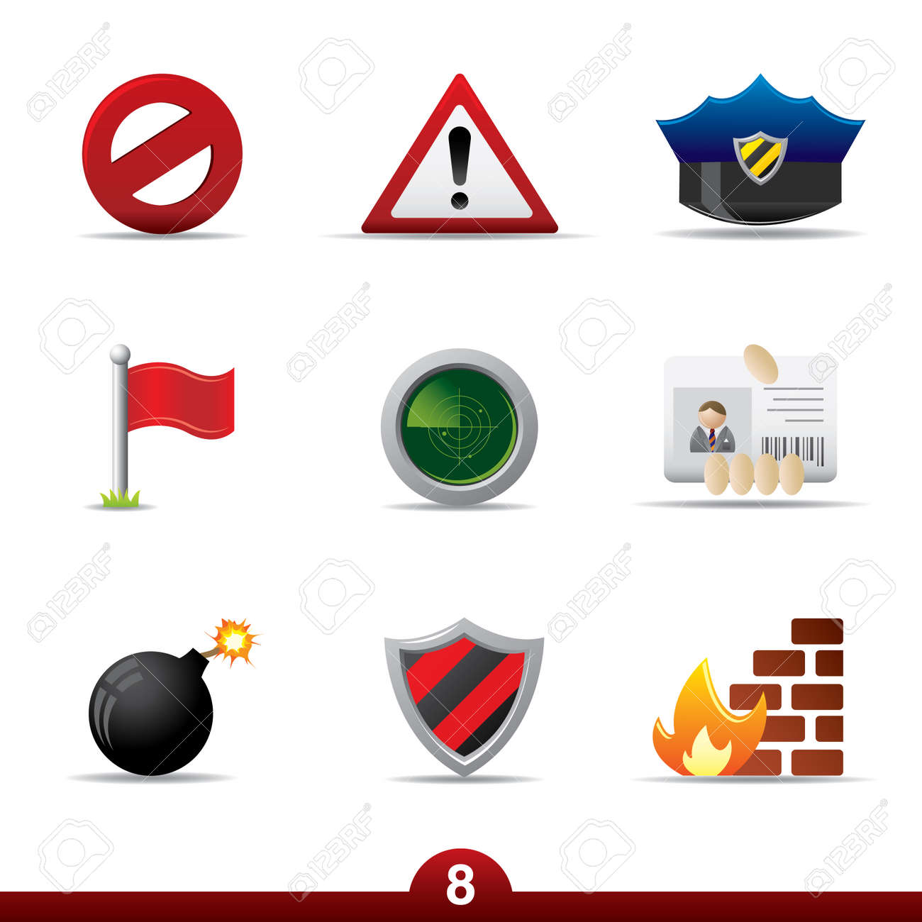 Icon series - safety Stock Vector - 5060432