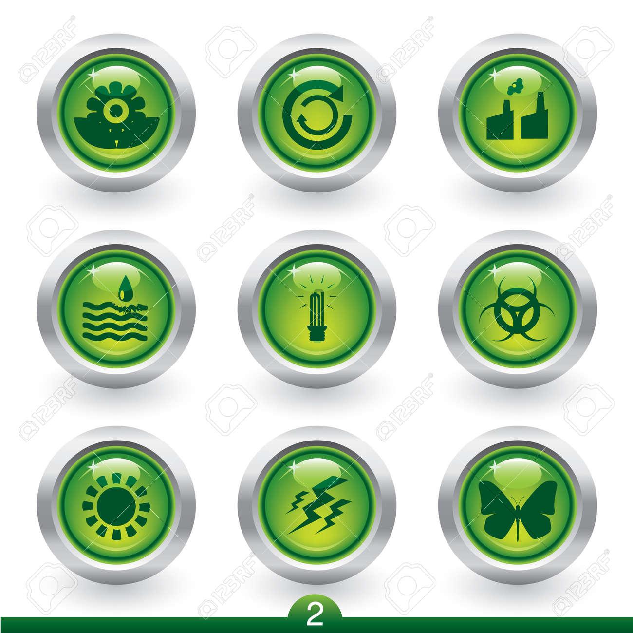 Environment icon series 2 Stock Vector - 6350761