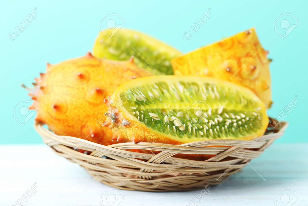 kiwano frucht
