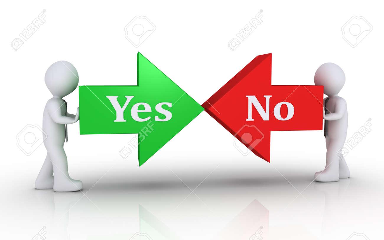 Deux non font un oui