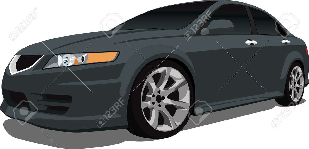 Vector Japanese Luxury Car Royalty Free Cliparts Vectors And Stock