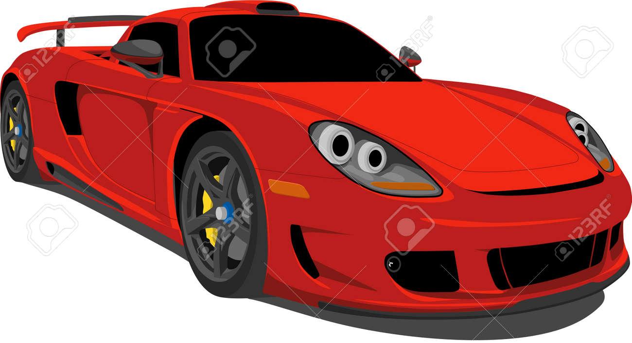German Race Car Stock Vector - 5585311