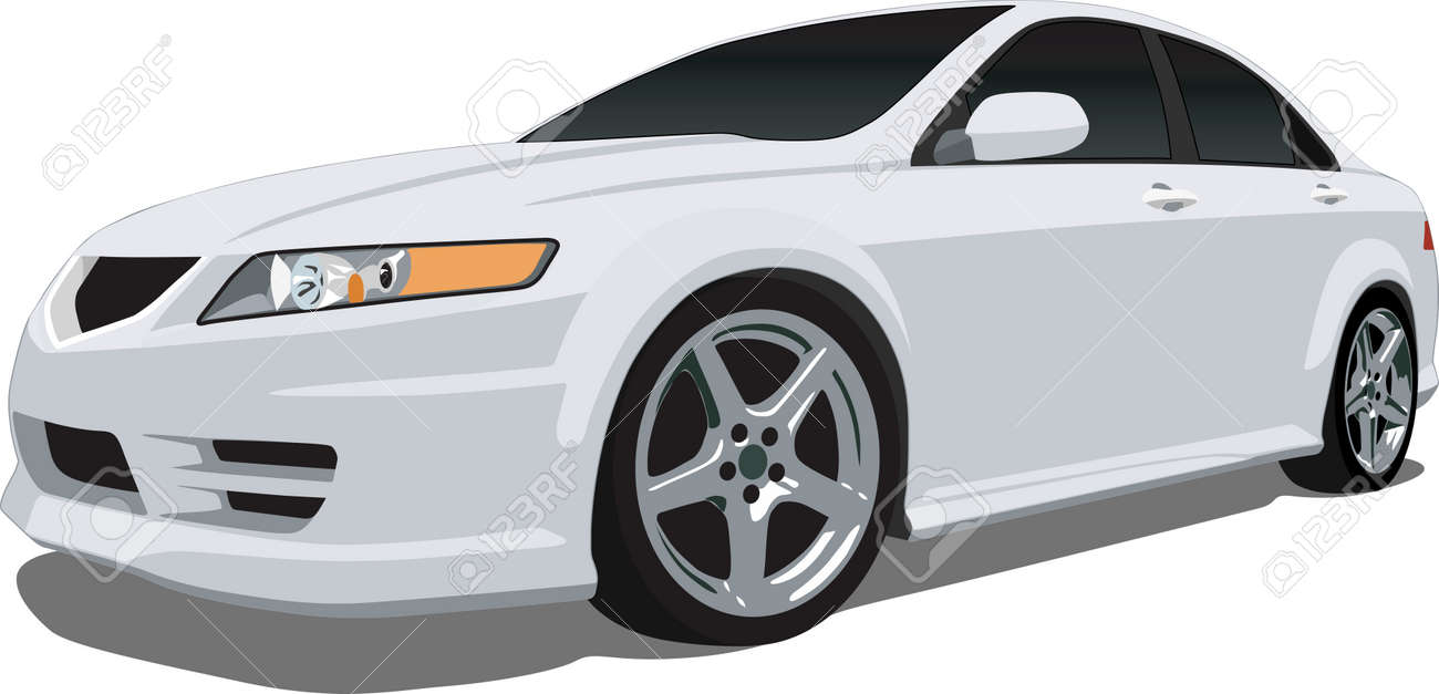 Japanese Luxury Car Royalty Free Cliparts Vectors And Stock