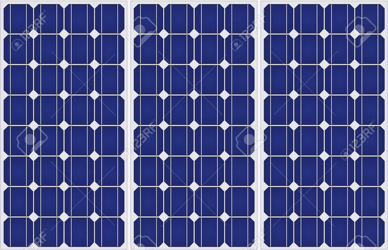 太陽電池パネルの均一形成パターンのイラスト の写真素材画像素材