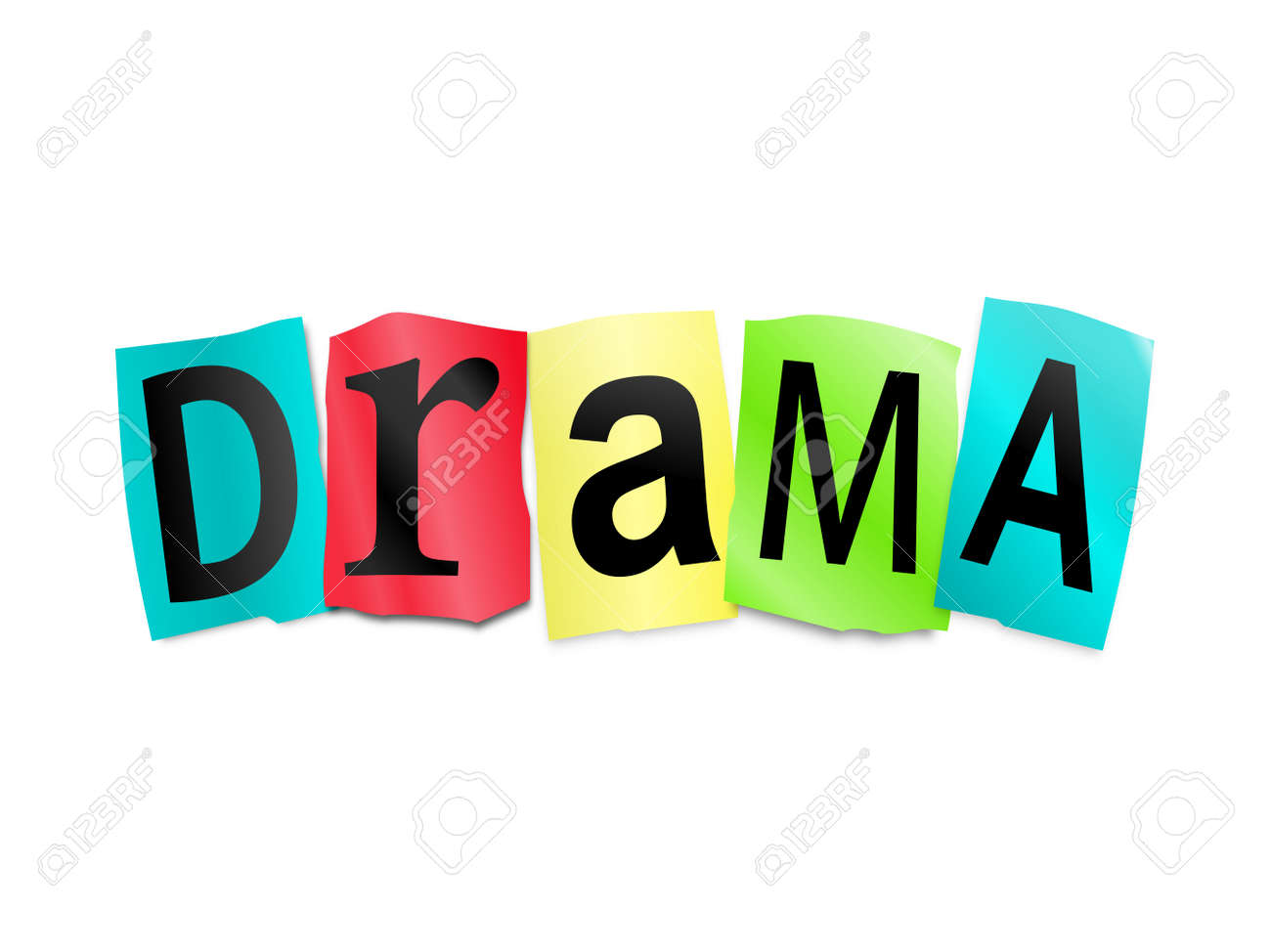 Image result for drama word