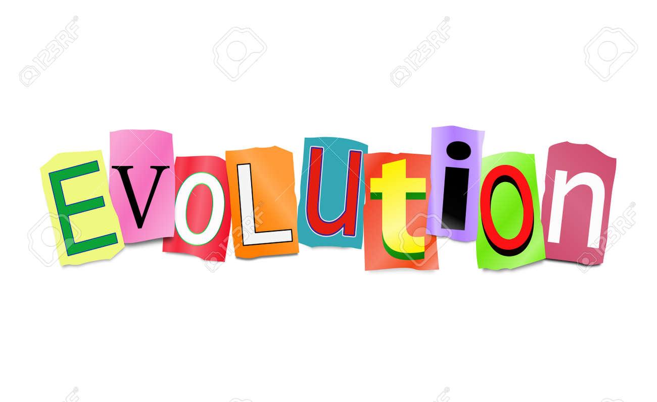 Image result for evolution word